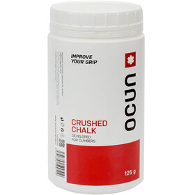 Ocun Chalk Crushed 125g - Magnésie - rouge/blanc